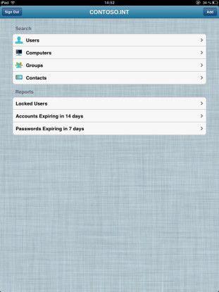 Hilfreiche App: Mit Active Directory Assist verwalten Sie Benutzer, Gruppen und Computer im Active Directory.