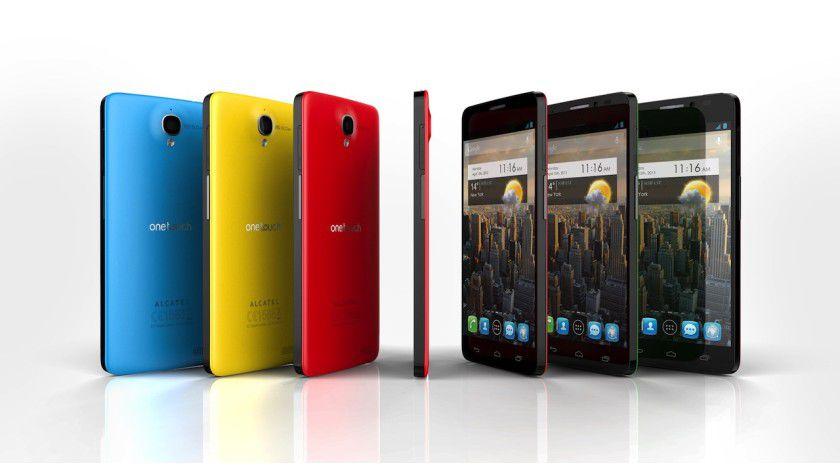 Alcatel One Touch Idol X: Das Smartphone mit 5-Zoll-Display ist nur 7 mm dick.