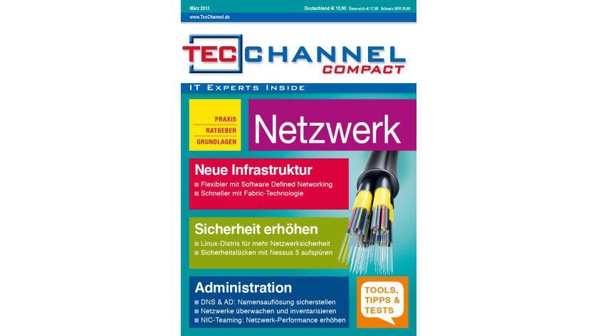 TecChannel Compact 01/2013: Über 160 Seiten zum Thema Netzwerk in Unternehmen.