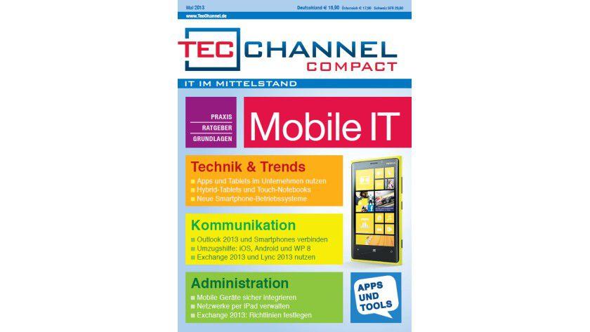 TecChannel Compact 03/2013: Über 160 Seiten zum Thema Mobile IT in Unternehmen.