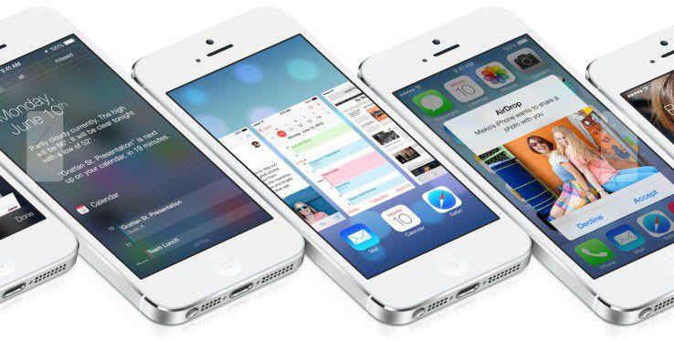 Bunt, aber noch Business-tauglicher: iOS 7