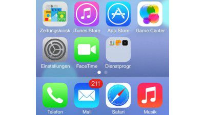 Neues Design, AirDrop, Control Center, Flickr: Apple iOS 7 Beta 3 auf dem iPhone 5