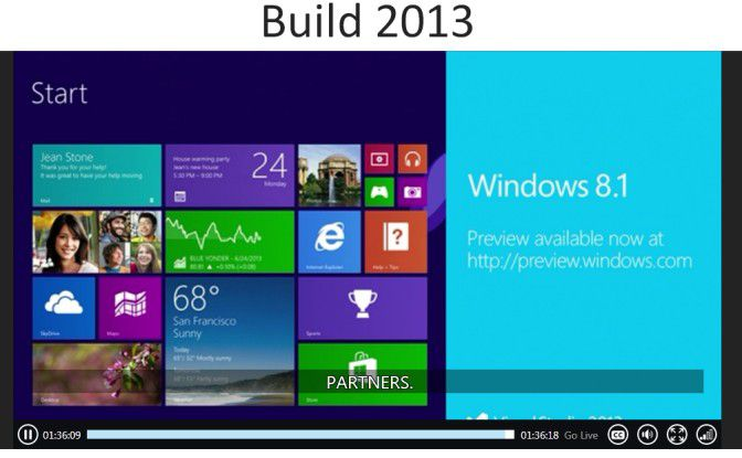 Vorabversion: Anlässlich der Entwickler-Messe Build hat Microsoft Windows 8.1 Preview zum Download freigegeben.