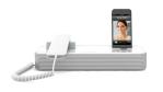 Gadget des Tages: Audioffice verwandelt iPhones und Android-Smartphones in formschöne Bürotelefone - Foto: invoxia