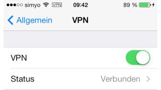 iPhone/iPad-Praxis: VPN mit iOS 8 richtig einrichten und nutzen