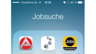 Stellen unterwegs finden: Die besten iPhone-Apps für die Jobsuche