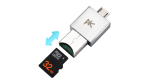 Gadget des Tages: PKparis PK`2 - Mini Dual-USB-Stick - Foto: PKparis
