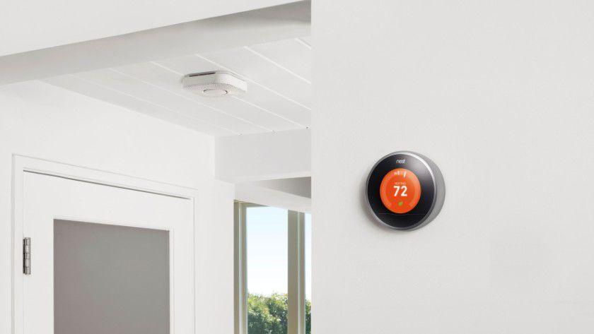 Thermostat und Rauchmelder: Nest bietet vernetzte Haustechnik an.