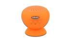 Gadget des Tages: Sticky Speaker - Bluetooth-Lautsprecher mit Saugnapf - Foto: Assmann