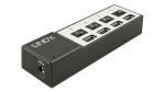 Gadget des Tages: High Power 4 Port USB Ladestation - vier mobile Endgeräte gleichzeitig laden - Foto: LINDY