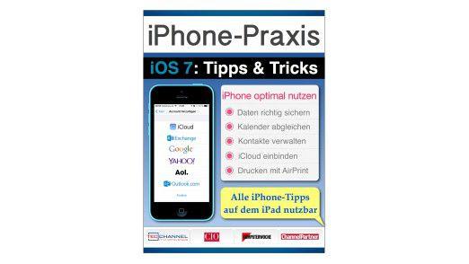 """Das interaktive Buch """"iPhone-Praxis mit iOS 7"""" ist jetzt im iBookstore für 4,99 Euro erhältlich."""