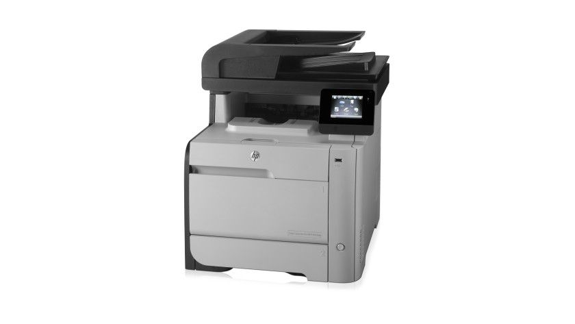HP LaserJet Pro 476: Dies ist der erste LaserJet von HP, der nach Mopria zertifiziert ist.