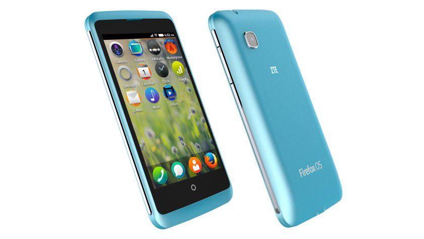 ZTE Open C: Das neue Smartphone mit Firefox OS ist im zweiten Quartal 2014 zuerst in Venezuela und Uruguay verfügbar.