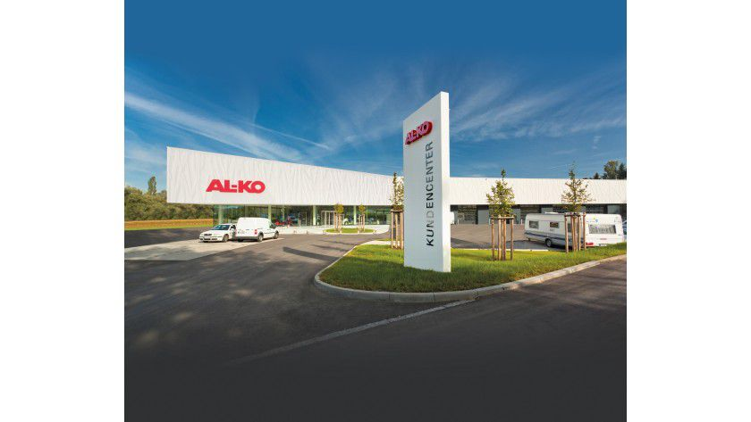 Das AL-KO-Kundencenter von außen
