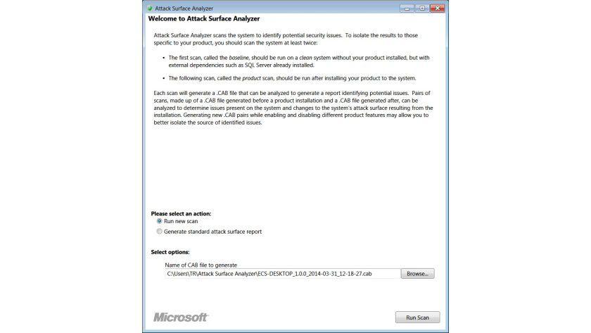 Funktionell: Im einfach gestalteten Programmfenster wird in verständlichem Englisch erklärt, welche Schritte der Anwender ausführen muss.