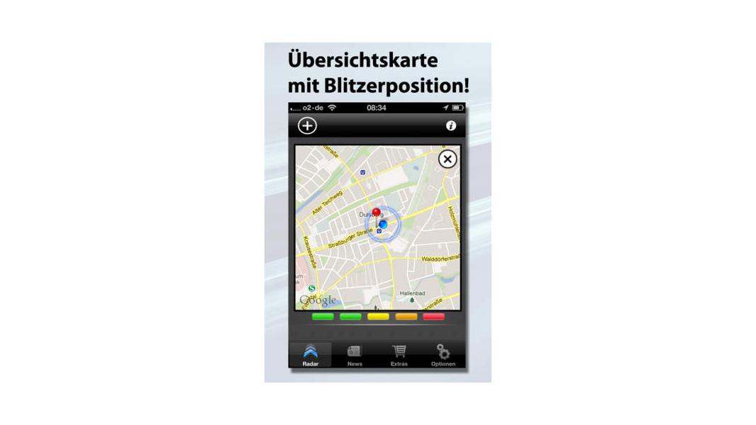 empfehlenswerte ios apps f r autoreisen verkehrsmelder. Black Bedroom Furniture Sets. Home Design Ideas