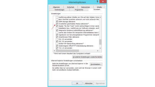 Schutzmaßnahme: Microsoft rät dazu, den erweiterten geschützten Modus in IE 11 und Internet Explorer 10 zu aktivieren.