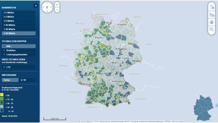 Breitbandatlas: In Gegenden wie dem schönen Nordfriesland herrscht in Sachen Breitbandausbau noch Nachholbedarf.
