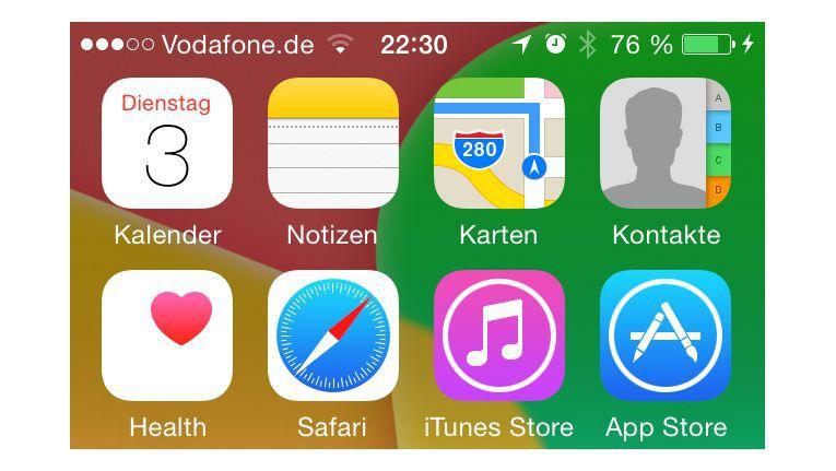 Teaser iOS 8