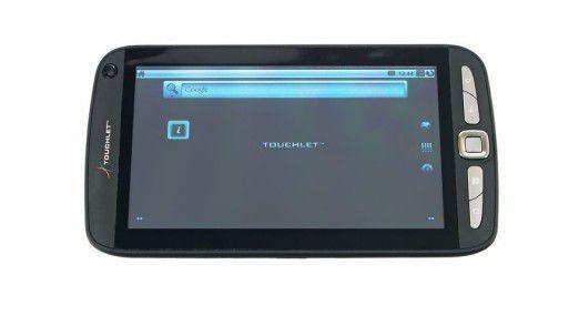 Schnäppchen-Tablet im Test: Pearl Touchlet X2.