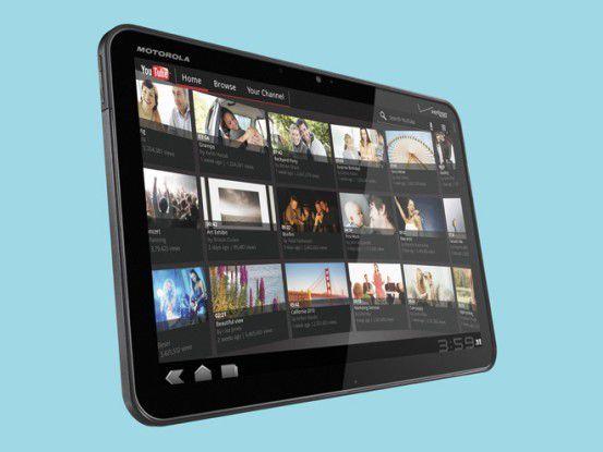 Das Motorola Xoom läuft als einer der ersten Tablet-PCs mit Android 3.0.