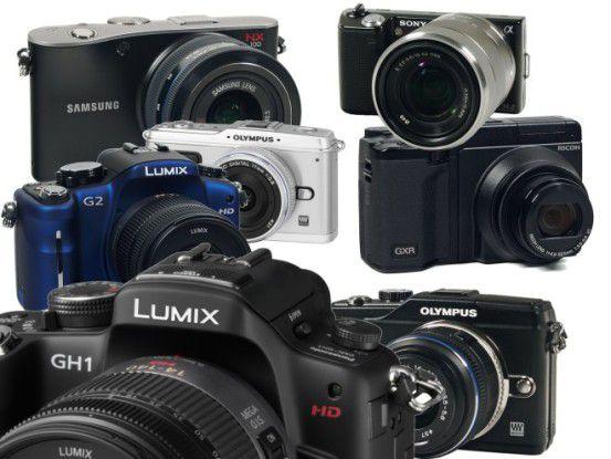 Vergleichstest Systemkameras