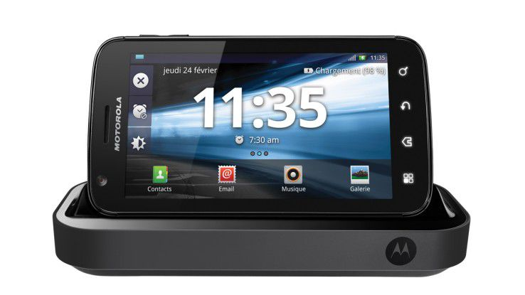 Motorola Atrix mit Multimedia-Dock