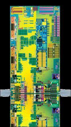 Der Atom Z670 von Intel bietet integrierte Grafik- und Speichercontroller