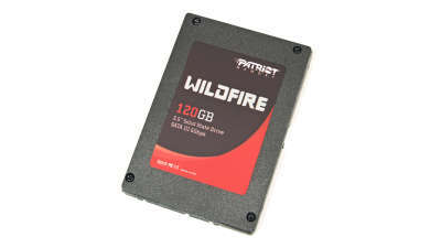 SSD-Festplatte: Patriot Wildfire 120GB (PW120GS25SSDR) im Test - Foto: Patriot