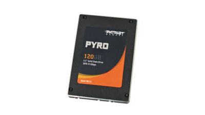 SSD-Festplatte: Patriot Pyro 120GB (PP120GS25SSDR) im Test - Foto: Patriot