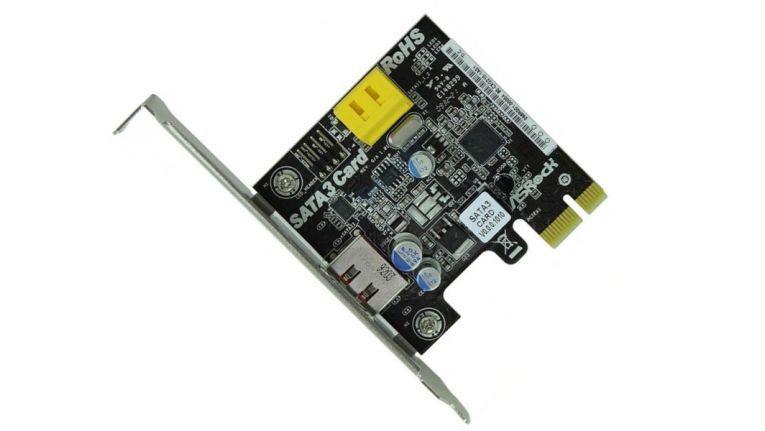 SATA 3 für die SSD nachrüsten: mit einer PCI-Express-Controller-Karte
