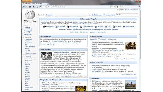Dem Wissen in Wikipedia sollte man gerade bei tagesaktuellen Themen kritisch gegenüberstehen.