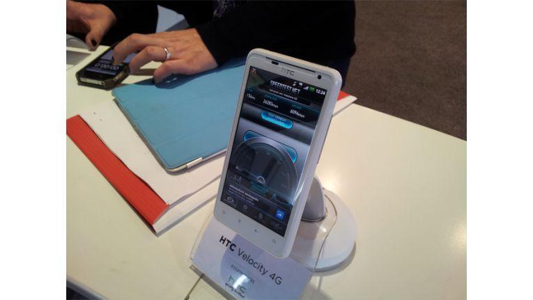 Im Speedtest erreichte das HTC Velocity 4G bis zu 47 Mbit/s. Hier über 26 Mbit/s.