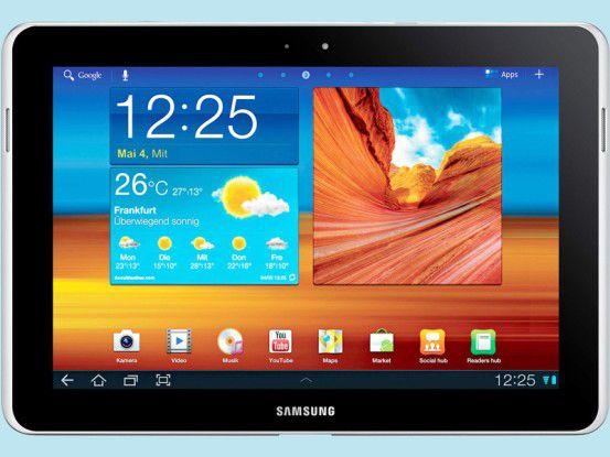 Das Samsung Galaxy Tab 10.1 ist das derzeit beste Android-Tablet.