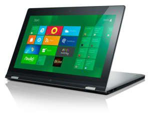 Mit Touch-Bildschirm und Windows 8: Lenovo Yoga