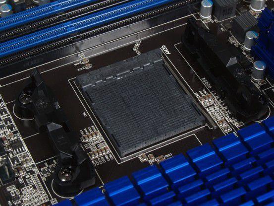 AM3+-Sockel für AMD-Prozessoren.