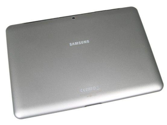 Samsung Galaxy Tab 2 10.1: Rückseite des Kunststoffgehäuses