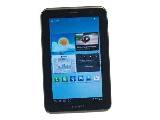 """Das """"Galaxy Tab 2 7.0"""" von Samsung."""