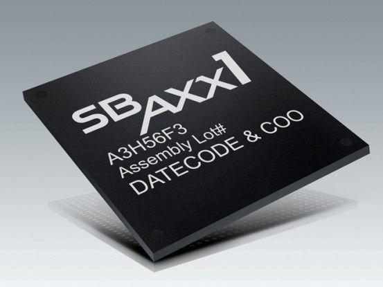Die Vierkern-CPU des SBX 10.