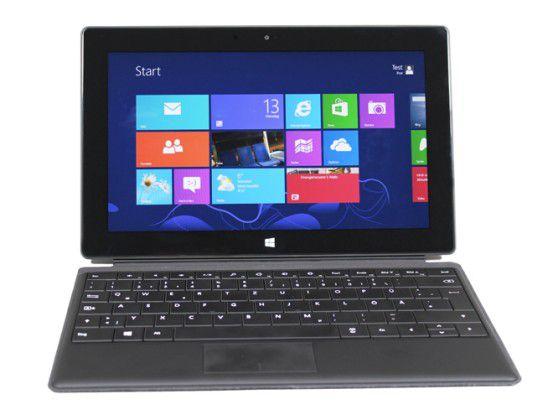 Angeblich arbeitet Nokia an einem Lumia-Tablet mit Windows RT - dabei orientere sich das Unternehmen an Microsofts Surface.