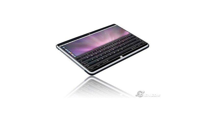 Vermutung: Eines der möglichen Designs des Apple Tablets.