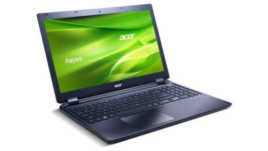 Das Acer Aspire Timeline Ultra M3-581TG ist mit einem Gewicht von 2,25 kg kein typisches Ultrabook. Es bietet allerdings für etwa 800 Euro einen schnellen Prozessor und eine spieletaugliche Grafik.