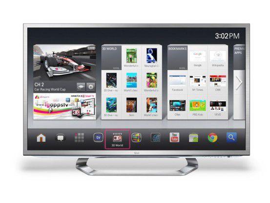 Smart-TV von LG