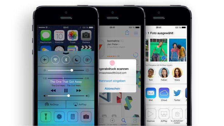 Beliebt, aber nicht ohne weiteres im Business einsetzbar: Apple iPhone 5s