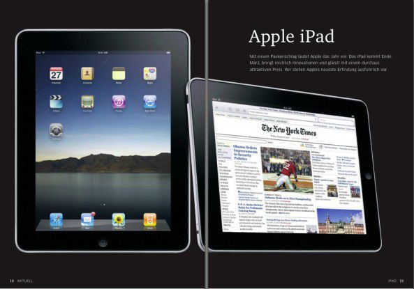 Apples neuester Coup: Das iPad