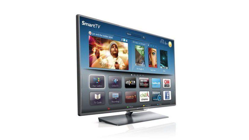 Smart TV: Internetzugang, Apps, Filme sind auf modernen Fernseher kein Problem mehr.