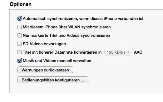 Wenn Sie Videos über das iPad kaufen, sollten Sie diese unbedingt mit iTunes synchronisieren
