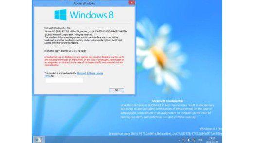 Windows 8.1 soll im Sommer erscheinen.
