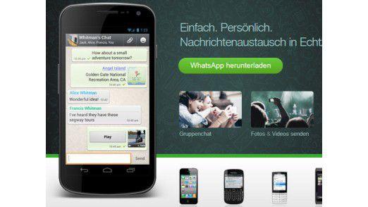 Google will angeblich WhatsApp kaufen und schließen.