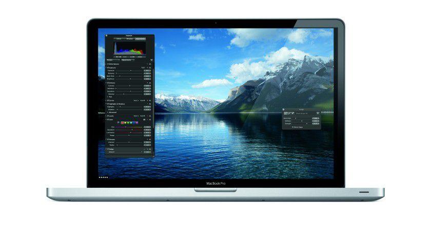 Das Macbook Pro 17 Zoll gibt es ausschließlich mit Core i5.